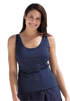 TOPSELLER! Swim 365 Women's Plus Size Print tank... $32.27  #Swim365