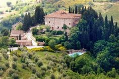 My home for 4 days...someday...in the rental apartment at this 9th century castle -- once home to Machiavelli (Tuscany Italy) [1st of two pins]