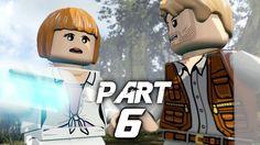 LEGO Jurassic World Video Game Walkthrough Gameplay Part 6 - Out of Boun...