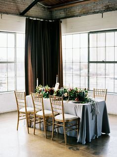 This gorgeous tabletop was captured by Jessica Gold Photography. Perfectly set at Hickory Street Annex. #bridesofnorthtx #wedding #tabletop