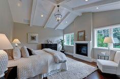 paleta de colores blancos beige dormitorio