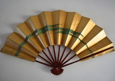 Dance fan, Japanese mai ogi, vintage Japanese maisen hand fan #6 by StyledinJapan on Etsy