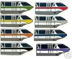 Image result for disney monorail pin set