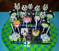 My Angry Birds Star Wars cake pops! They were yummy