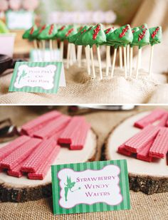 Cake Pops y Obleas
