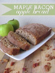 Sugar Blossoms: NEW Recipe: Maple Bacon Apple Bread