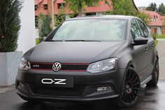 "Superturismo GT 18"" on Polo TSI GTI #OZRACING #RACING #SUPERTURISMO #GT #RIM #WHEEL Volkswagen Polo, Polo Wraps, Sport Seats, Car Goals, Vw Cars, Small Cars, Dream Cars, Racing, Golf"
