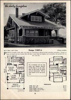 1925-26<>C. L. Bowes<>House Plans | Daily Bungalow | Flickr