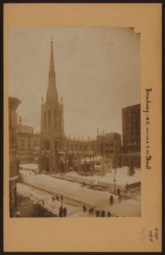 Manhattan: Broadway - 10th Street (East) From New York Public Library Digital Collections.