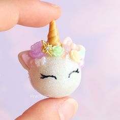 Hi everyone! In today's Craftmas video over on YouTube I show you how to make a pastel unicorn ornament! ✨ Click on the link in my bio to go to my channel #polymerclay #polymer #clay #cute #kawaii #unicorn #pastel #art #craft #handmade #polymerclaycharms #sculpey #fimo #premo