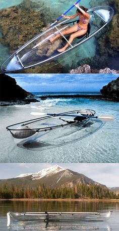 Canoa transparente