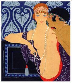 Illustration, 1922 Georges Barbier