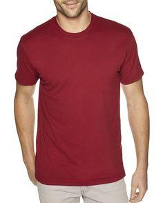 b0ea04340d2 Next Level Apparel Men s Premium Fitted Sueded Crewneck T-Shirt