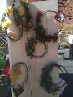 Barbwire Wreaths