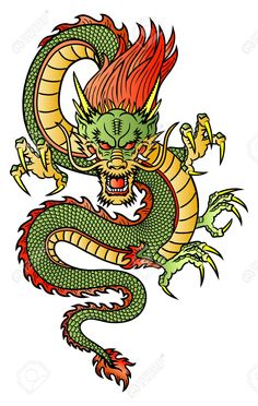 23709613-Traditional-Asian-Dragon--Stock-Vector-dragon-tattoo-chinese.jpg…