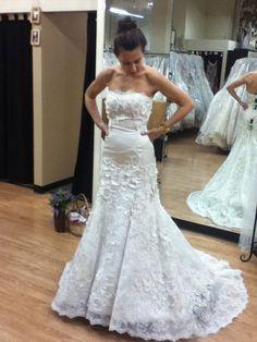 my Watters Torreon wedding dress