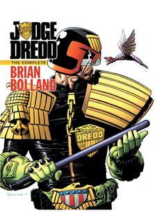 Judge Dredd: The Complete Brian Bolland HC.