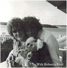 Barry Manilow with Roberta Kent