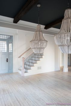 My Very Own Staircase Balusters to Heaven. Sharing details on our AMAZING new staircase railings and a full updated foyer tour! Iron Stair Railing, Iron Balusters, Staircase Railings, Stairs, Staircases, Coastal Furniture, Coastal Decor, Modern Coastal, Coastal Cottage