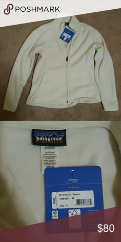 Patagonia Jacket White Patagonia Jacket never worn and new with tags Patagonia Jackets & Coats