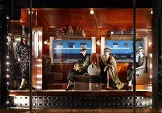 A window display at the Louis Vuitton Plaza 66 Maison in Shanghai. ©Louis Vuitton - Stéphane Muratet