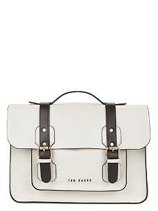 TED BAKER Skolday leather satchel