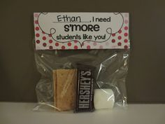 Valentine S'Mores for your students- so unique and easy to make!