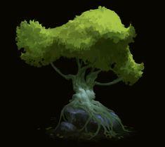 ArtStation - trees, iris muddy