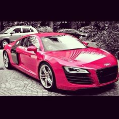 Pink Audi R8 - would you be seen driving this?