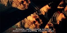 Chungking Express. This line is so true. I always wanted to know more about people. I thought I can understand them. However, people change, quickly. There are so many choices in the world.
