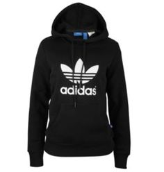 adidas Originals Trefoil Hoodie - Women's at Foot Locker Adidas Shoes Outlet, Adidas Shoes Women, Adidas Clothing, Adidas Originals, Adidas Hoodie, Cute Gym Outfits, Casual Outfits, Women's Casual, Athletic Outfits