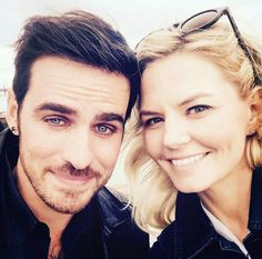 There are a lot of epic romances on Once Upon a Time, but nothing comes quite as close to Captain Swan. Not only do Captain Hook and Emma Swan make one sexy Emilie De Ravin, Outlaw Queen, Colin O'donoghue, Jennifer Morrison, Emma Swan, Once Upon A Time, Ouat Cast, Hook And Emma, Time Pictures
