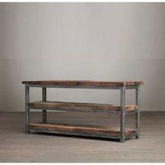 Mueble de televisión de estilo industrial | Woodies