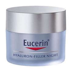 Eucerin Hyaluron-Filler Night Cream 50ml An advanced formula night cream to target and plump up even the deepest wrinkles from within. The formula of Eucerin Hyaluron-Filler Night Cream contains two different types of Hyaluronic Acid to targ http://www.MightGet.com/april-2017-2/eucerin-hyaluron-filler-night-cream-50ml.asp