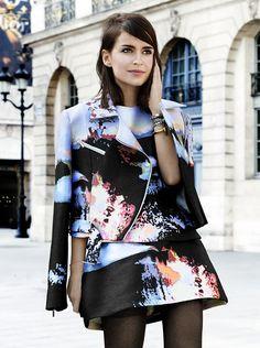 Loving Mira's style.