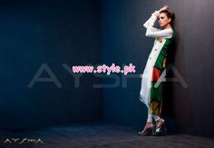 Aysha Anees Latest Winter 2012 Collection For Women