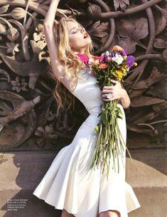 Blooming NYC I Elle Korea I April 2013  I Model: Shelby Keeton I Photographer: Min Hye Ryong I Editor: Hwang Kiae.