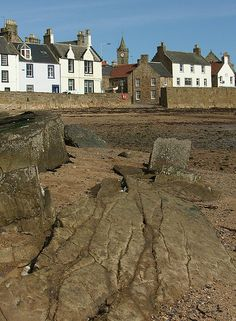 Rocks Anstruther East Neuk of Fife Scotland