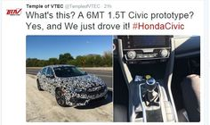 6MT 1.5T Civic Honda Civic Is Coming - 10th Gen Civic Forum