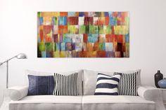 Acryl Gemälde 'Eine Hommage ans Leben' 140x70cm