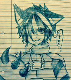 anime cheshire cat guy | Cheshire Cat - Alice Mare by caligulasCapricious on DeviantArt