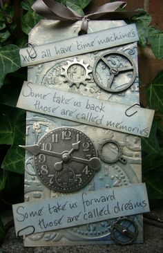 """""""We all have time machines. Some take us back, those are called memories. Some take us forward, those are called dreams."""""""