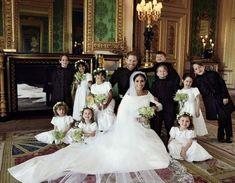 Oto pierwsze oficjalne zdjęcia ślubne Meghan Markle i księcia Harry'ego. Wykonał je Alexi Lubomirski