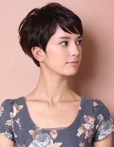 Coupe de cheveux courte femme été 2016 - Les plus belles coupes courtes de Pinterest - Elle