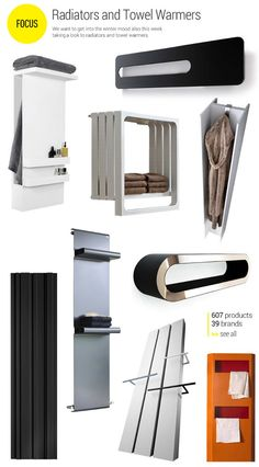 Focus on Radiators and Towel Warmers - We want to get into the winter mood also this week taking a look to radiators and towel warmers. Bathroom Towel Rails, Towel Holder Bathroom, Modern Towel Warmers, Towel Heater, Bathroom Accesories, Upstairs Bathrooms, Bathroom Renos, Contemporary Bathrooms, Bathroom Interior Design