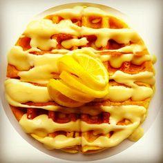Iced Lemon Waffle