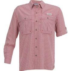 33da749964f Magellan Outdoors Men's Aransas Pass Long Sleeve Gingham Fishing Shirt (Rio  Red, Size XXXX Large) - Men's Outdoor Apparel, Men's Fishing Tops at Ac..