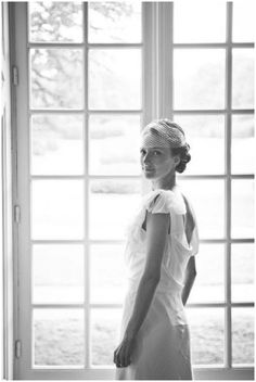 Retro and chic wedding dress www.smittenphotography.co.uk/