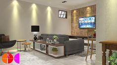 Projeto de Interiores para edificação residencial em Porto Ferreira
