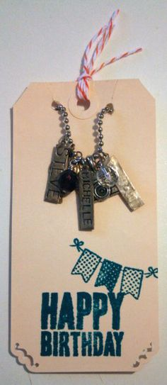 DIY necklace card — The Good Weekly #packaging